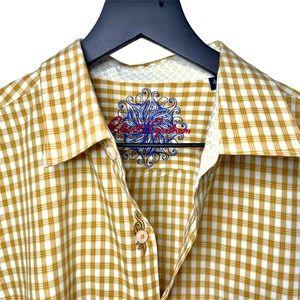 Robert Graham Button Down Shirt - Sz L